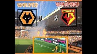 Wolves 0  -  2 Watford  My Match Highlights  (20/10/18)