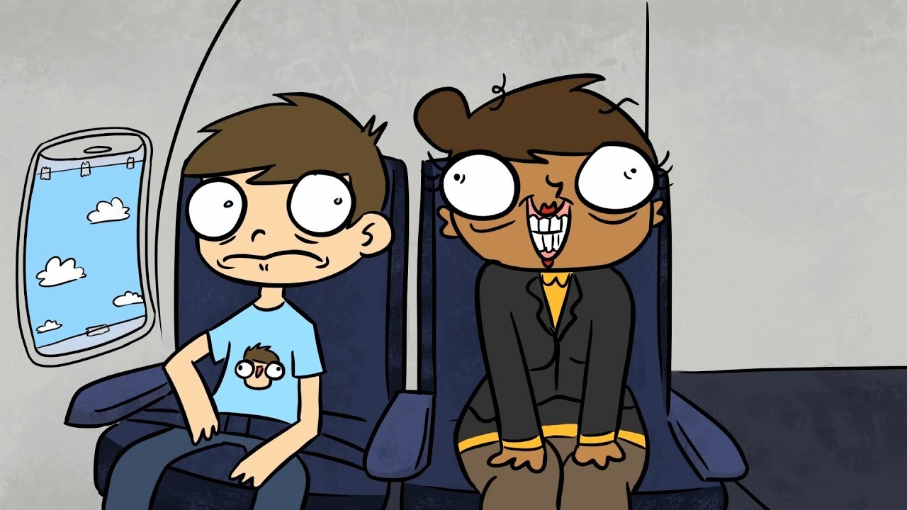 Brent Pella - Why You Shouldn't Fly on Spirit Airlines (ANIMATED STAND-UP)