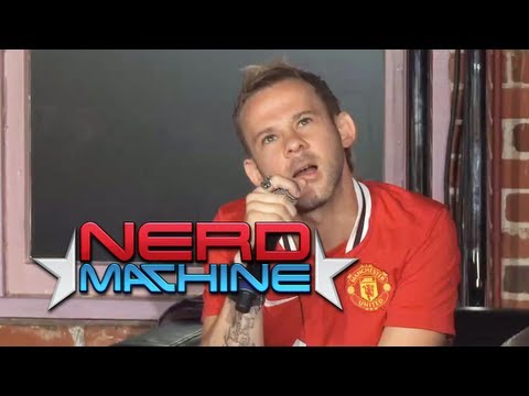 Conversation with Dominic Monaghan - Nerd HQ (2011) HD - Zachary Levi