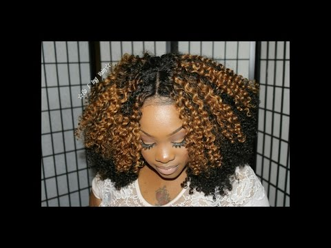 MY FIRST TIME: NATURELLE KINKY CURLY