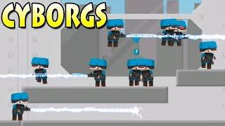 Clone Armies sandbox! many cyborgs! армия клонов сандбокс! спам киборгов!