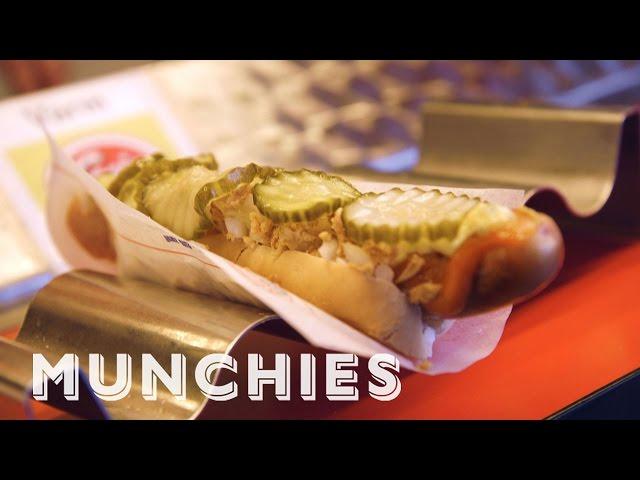 MUNCHIES Presents: The Art Of Making Danish Hot Dogs