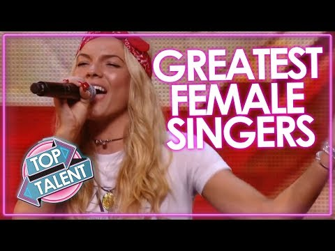 GREATEST FEMALE SINGER AUDITIONS! X Factor & Got Talent Auditions | Top Talent