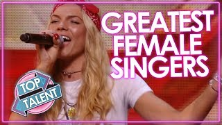 greatest female singer auditions x factor got talent auditions top talent