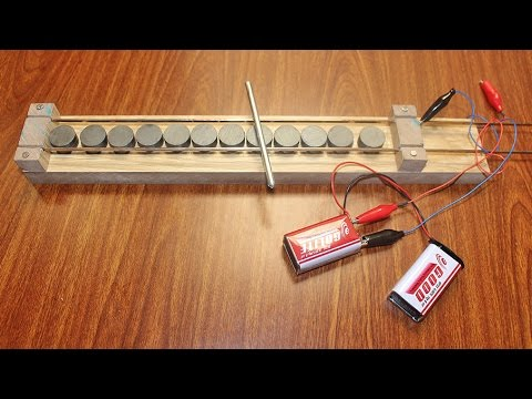simple linear motor how to make a simple linear motor