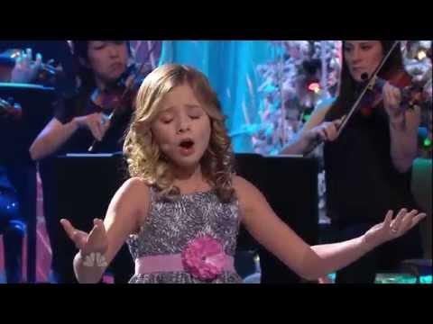 ᴴᴰ Jackie Evancho - O Holy Night (The Tonight Show with Jay Leno)