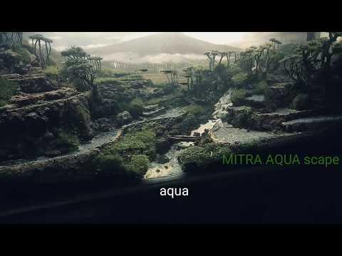 aqua-scape-tema-air-terjun,sawah,bukit-&-gunung-.