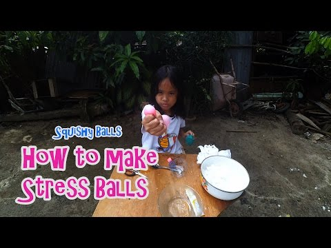 How to make Stress Balls | Squishy Balls | DIY Toys for Kids | Indonesia