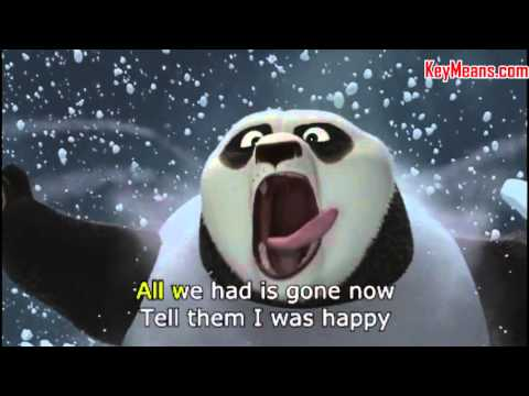 Impossible beat Karaoke (Kungfu Panda 2) - Key Means