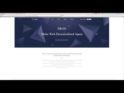 Why TRX Tron is a Great investment long term