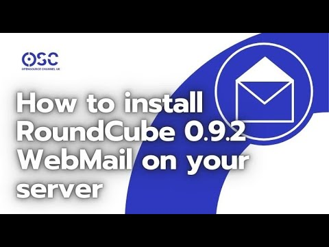 How to install RoundCube 0.9.2 WebMail on your server