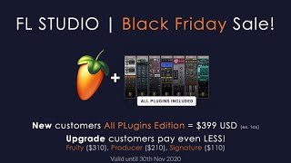 BLACK FRIDAY SALE | $399 All Plugins Edition. LESS for Upgraders!