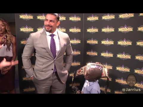 Jarrius Robertson interviews Roman Reigns