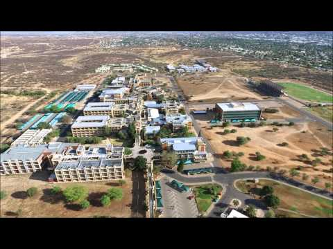 University of Namibia Aerial view (UNAM)