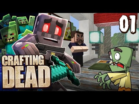 Minecraft crafting dead smp episode 1 grenade fun youtube for The crafting dead ep 1