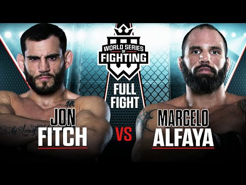Jon Fitch vs Marcelo Alfaya | WSOF 6, 2013