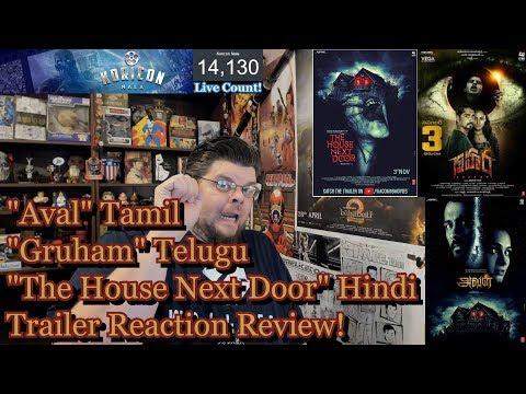Aval - Tamil/Telugu/Hindi Trailer Reaction Review! | Siddharth | Andrea Jeremiah