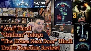 Aval Tamil/Telugu/Hindi Trailer Reaction Review! | Siddharth | Andrea Jeremiah