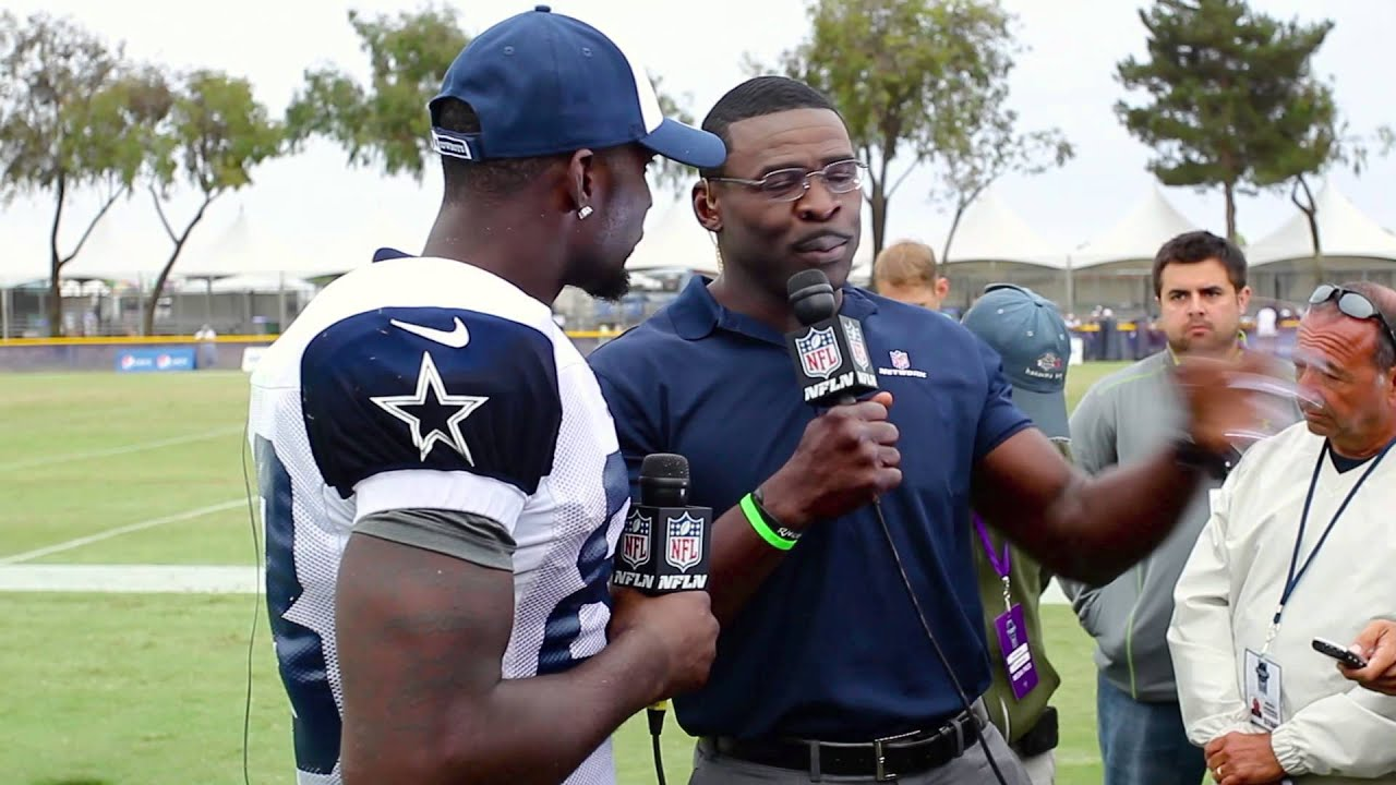 The 88s Dez Bryant And Former Cowboy Michael Irvin On The Nfl Network