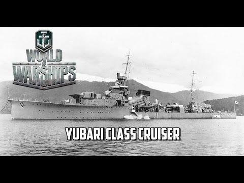 World of Warships - Yubari Class Cruiser