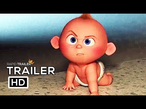 INCREDIBLES 2 Babysitting Jack Jack Full online NEW (2018) Disney Animated Superhero Movie HD