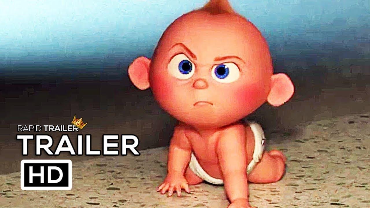 Incredibles 2 Babysitting Jack Jack Trailer New 2018 Disney Animated Superhero Movie Hd Youtube