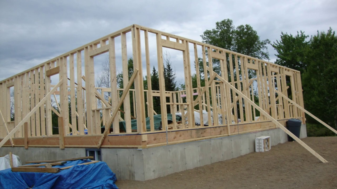How to build your own House from scratch free and clear 3  YouTube