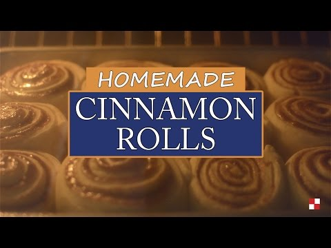 Homemade Cinnamon Rolls - Recipe Rack