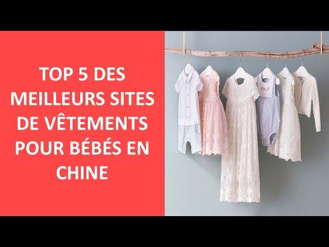 Top 5 Des Meilleurs Sites De Vêtements Pour Bébés En Chine