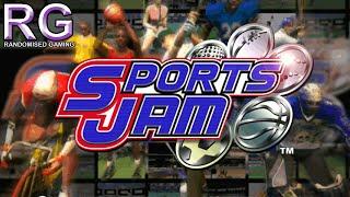 Sports Jam Sega Dreamcast Intro Arcade mode gameplay with