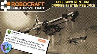 Robocraft - HUGE Movement and Damage System Reworks