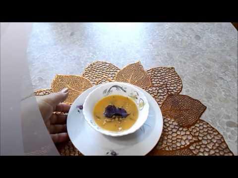 Постный гороховый суп пюре кулинарный рецепт