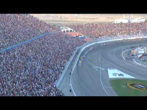 2009 Shelby 427 Las Vegas, Final Laps: Busch wins big in Vegas.