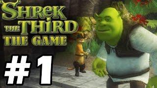 Прохождение Шрек Третий / Shrek The Third - Серия 1 - Пиратский корабль.