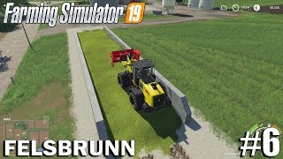 CORN SILAGE| Felsbrunn | Timelapse #6 | Farming Simulator 19