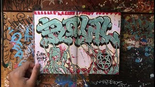 Giant Graffiti Sticker Blackbook