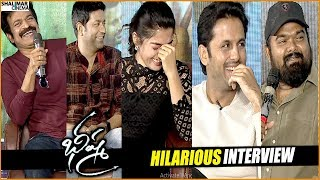 Bheeshma Movie Team Hilarious Interview || Rashmika, Nithin, Vennala Kishore || Shalimarcinema