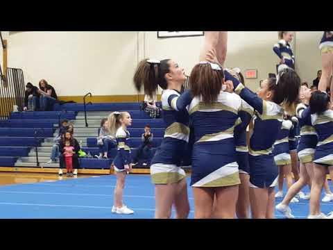 Roxbury Comp Cheer NJ @ Roxbury High School 2018