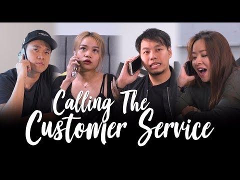 Calling the Customer Service