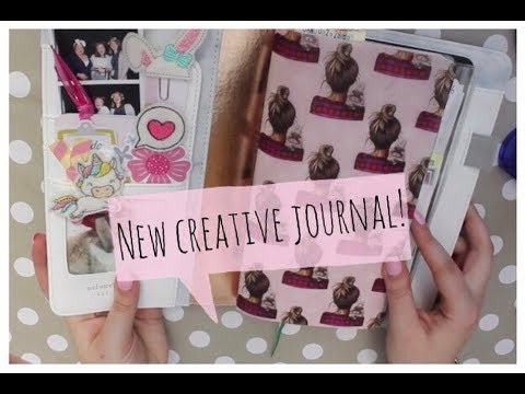 Setting Up my New Creative Journal! | Webster's Pages TN