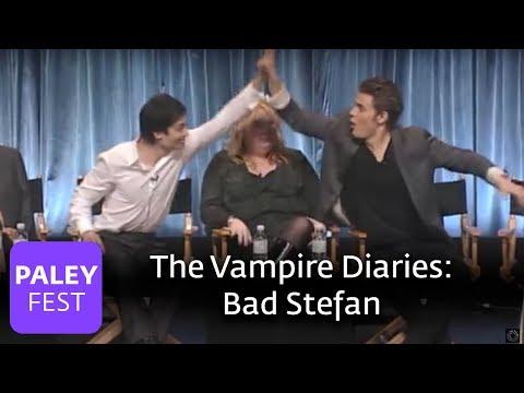 The Vampire Diaries  Paul Wesley Likes Bad Ste