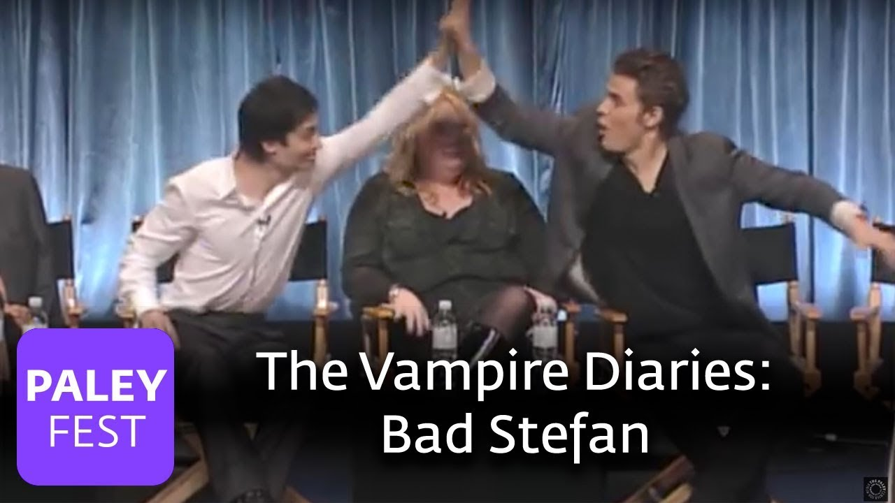 The Vampire Diaries - Paul Wesley Likes Bad Stefan