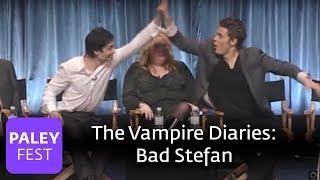 The Vampire Diaries - Paul Wesley Likes Bad Stefan