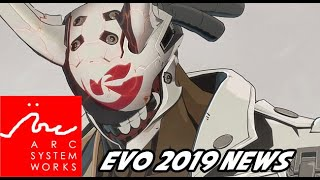 New Guilty Gear And More! Arc System Works Evo 2019 News