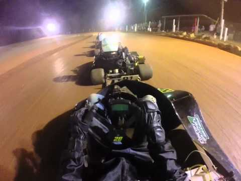 200 to win at shiloh in box stock heavey at cheackerd flag kartway