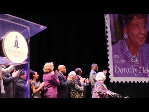 DEDICATION OF THE  FOREVER STAMP OF DOROTHY HEIGHT