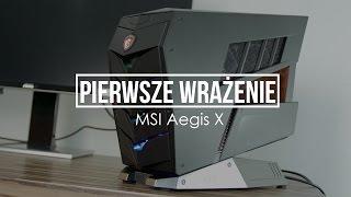 MSI Aegis X – test komputera stworzonego do wirtualnej rzeczywistości