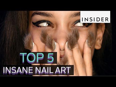 Top 5 insane nail art trends