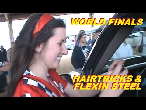 FLEXIN STEEL AT WORLD FINALS - THE BLACK NASTY