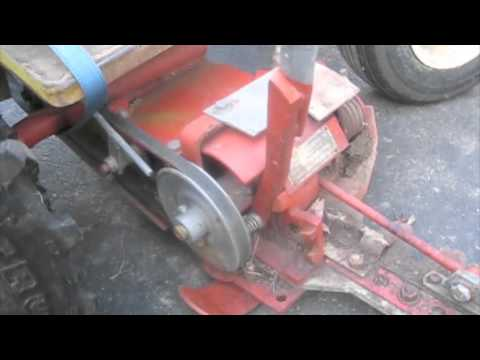 Haban Sickle Mower Project #3: Freeing Up the Bar Assembly